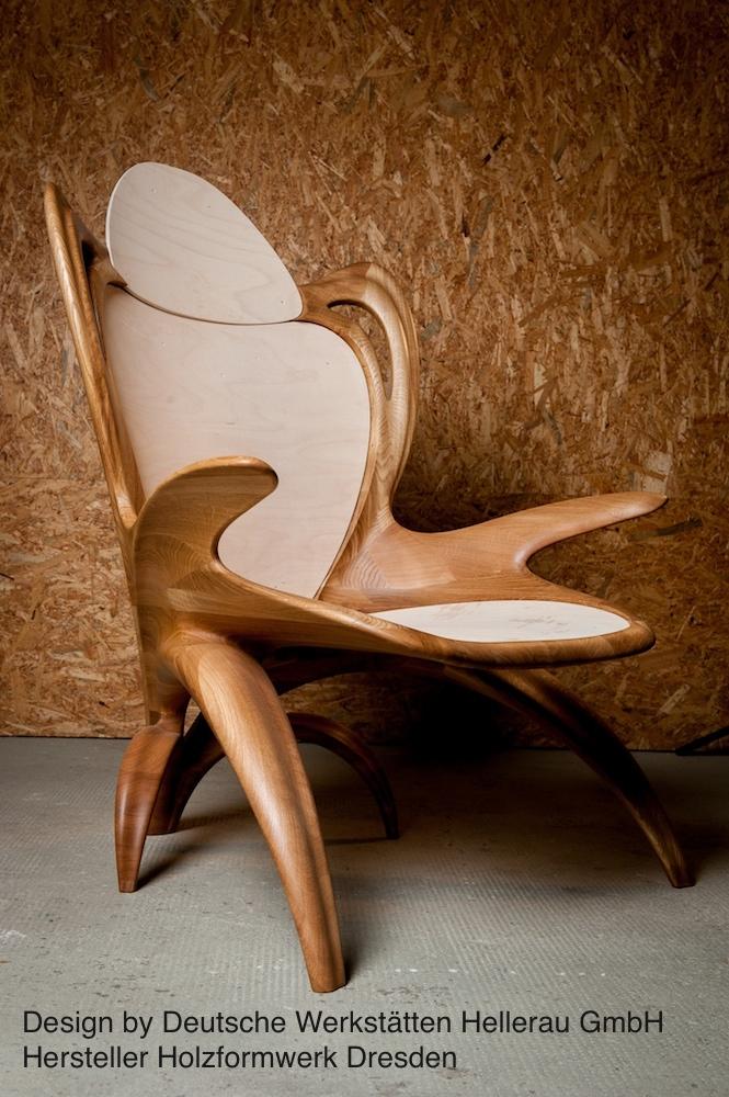 Massivholz Sessel Holzformwerk Dresden